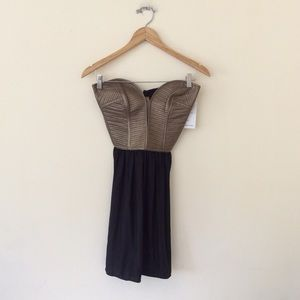 Parker Corseted Dress Small NWT